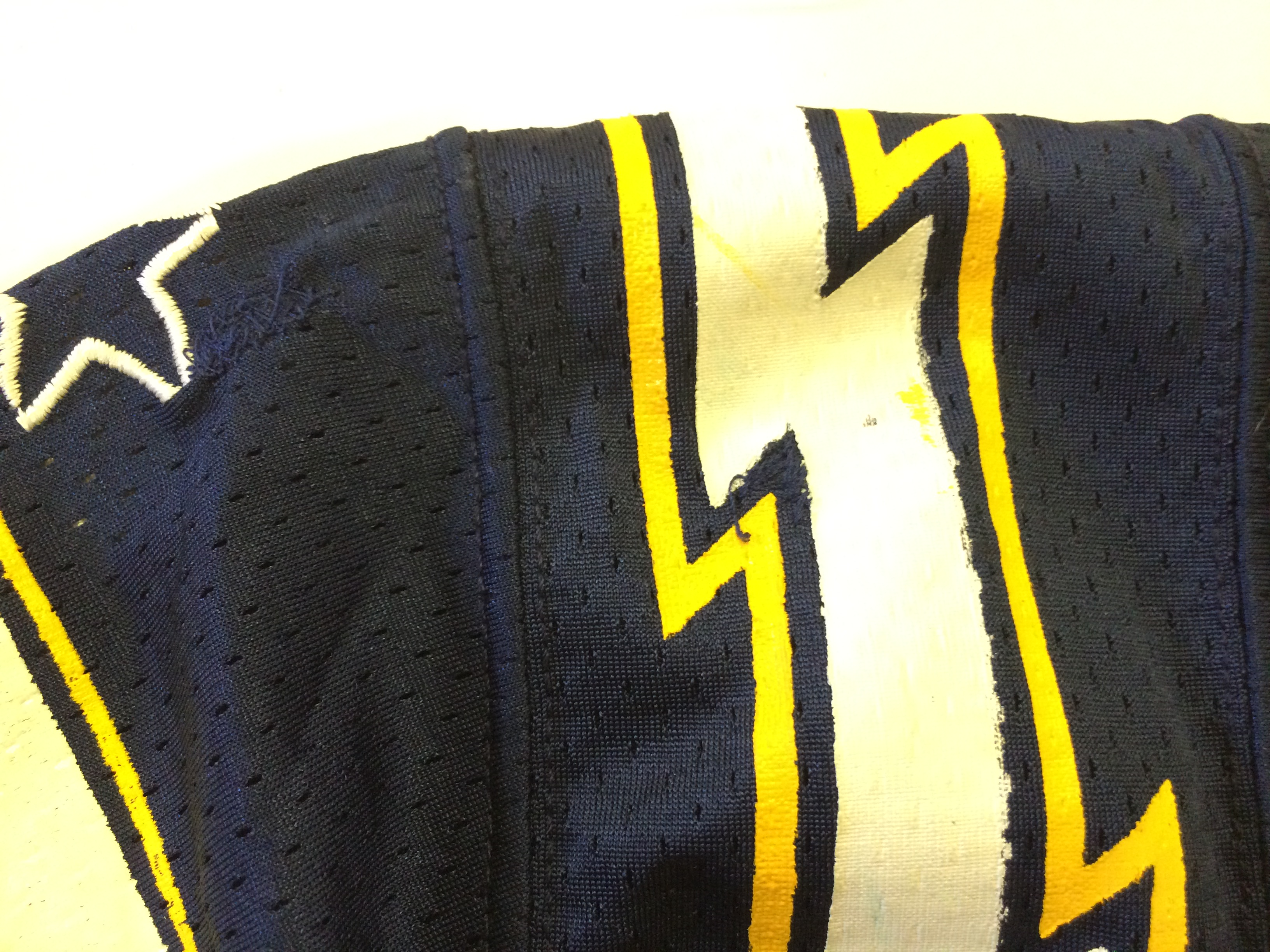 San Diego Chargers Game Worn Used Collection